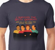 Voyages in the Delta Quadrant Unisex T-Shirt