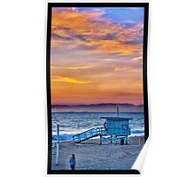 Sunset in Redondo Beach Poster