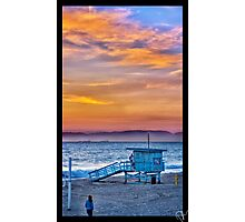 Sunset in Redondo Beach Photographic Print