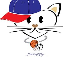 HeartKity Sport Cat by LoPowDesign