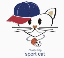 HeartKity Sport Cat by LoPowDesign