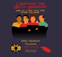 Delta Quadrant Vacations Unisex T-Shirt