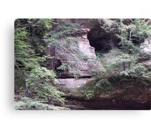 Hole in the Hills Canvas Print