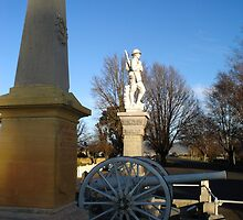 Cenotaph at Ross by Wendy Dyer