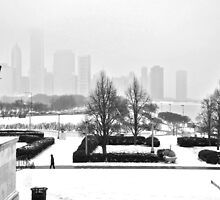 Lakefront Sunday Chicago Winter by Polly Greathouse