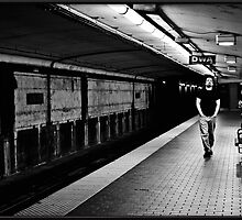 Waiting for the Night Train by Liquidends