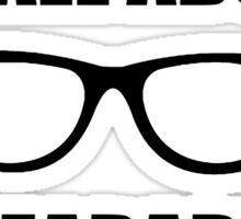Sonic Sunglasses - Black Sticker