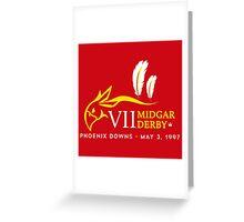 Midgar Derby Greeting Card