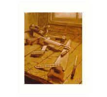Study for Carpenter's Bench Art Print