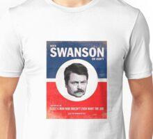 Vote Ron Swanson Unisex T-Shirt