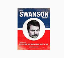 Vote Ron Swanson Unisex T-Shirt