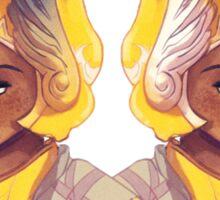 Lemon Gladiators Sticker