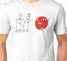 Ten Pins Turn the Tables Unisex T-Shirt