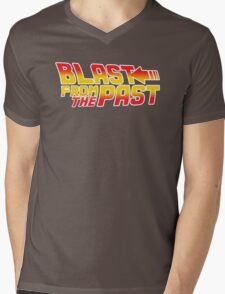 Blast from the Past Mens V-Neck T-Shirt