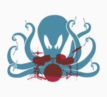 Octo Drummer by beardo