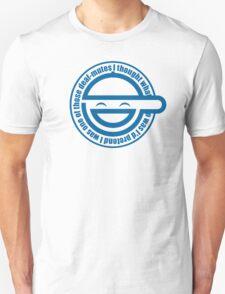 Laughing Man White T-Shirt