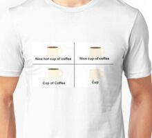 Cup of Coffee Unisex T-Shirt
