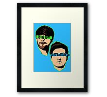 PopBestFriends Framed Print