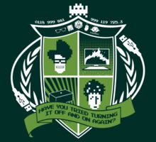 The IT Crowd Crest