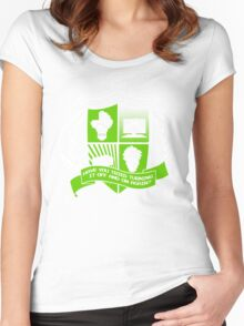 The IT Crowd Crest Women's Fitted Scoop T-Shirt