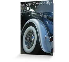 Father's Day Card Greeting Card