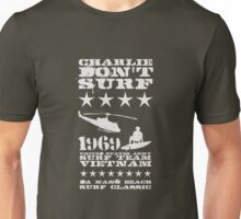 Surf team vietnam - Charlie Don't surf - White Unisex T-Shirt