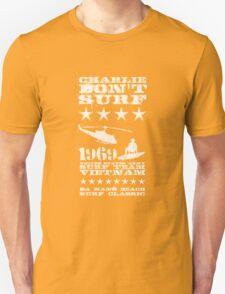 Surf team vietnam - Charlie Don't surf - White Unisex T-Shirt