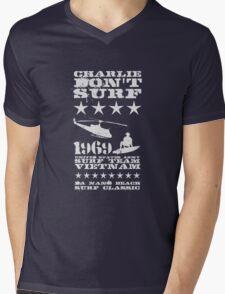 Surf team vietnam - Charlie Don't surf - White Mens V-Neck T-Shirt