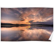 Natures Canvas- Narrabeen Lakes, Sydney - The HDR Experience Poster
