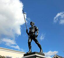 Pikeman statue, Wexford, Ireland by buttonpresser