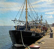 The Quay at Wexford, Ireland by buttonpresser