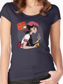 Miltank Girl Women's Fitted Scoop T-Shirt