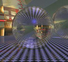 Cubed Spacewarp by Sazzart
