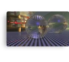 Cubed Spacewarp Canvas Print