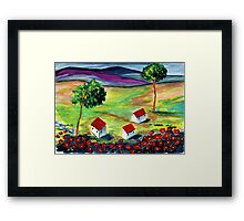 ♪♪ There is poetry on earth again ♪♪ Framed Print
