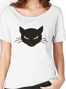 Evil Kitty Women's Relaxed Fit T-Shirt