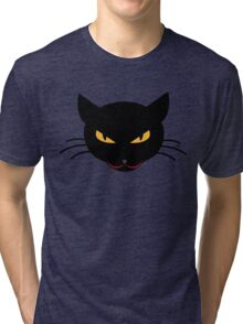 Evil Kitty Tri-blend T-Shirt