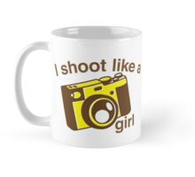 I shoot like a girl (Camera Photographer) Mug