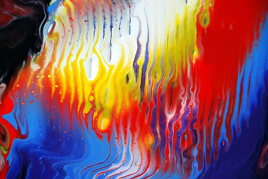 Acrylic Fluid Colour Trails by markchadwick