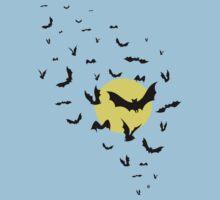 Bat Swarm Kids Tee