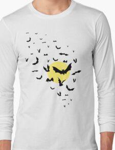 Bat Swarm Long Sleeve T-Shirt