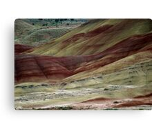 The Painted Hills Canvas Print