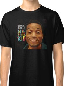 Jermaine Fowler - GIVE 'EM HELL, KID (cover) Classic T-Shirt