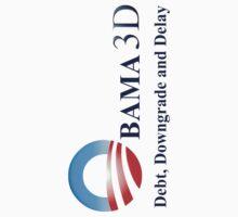 Obama 3D by BleedLineDesign