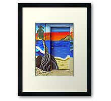 Home From the Beach Framed Print