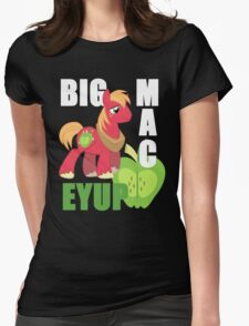 Big macintosh Womens Fitted T-Shirt