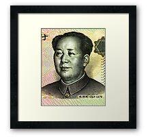Mao Zedong (Renminbi) Framed Print