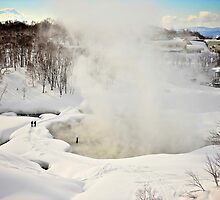 Goshiki Natural Hot Springs in Niseko by Neil Hartmann