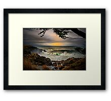 Little Whale Cove ~ Oregon Coast ~ Framed Print