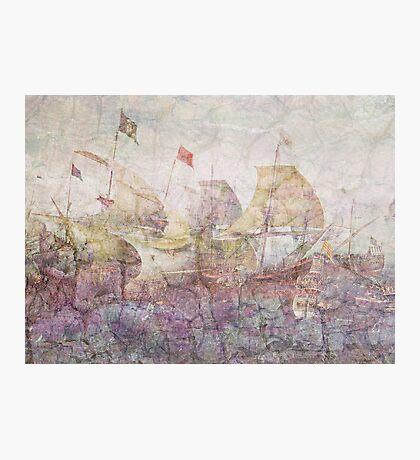 Under Full Sail Photographic Print